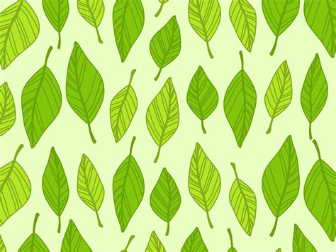 background pattern leaves free vector graphic autumn background boxes green