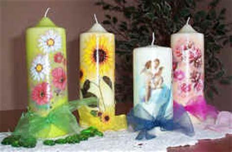 decoupage su candele www luisarivolta it d 233 coupage artistico e non