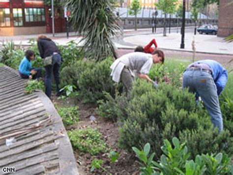 Guerilla Gardening by 10 Guerilla Acts Of Service Oddee