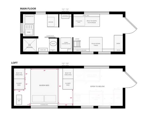 small house trailer floor plans 18 best tiny house floor plans images on pinterest tiny
