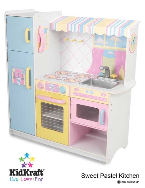 kidkraft sweet pastel kitchen kidkraft 53146 at