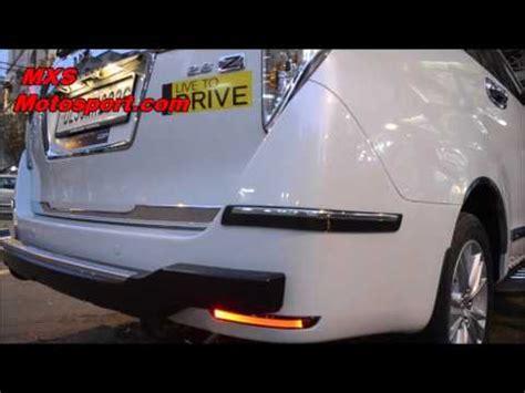 Led Bumper Innova v821 rear bumper led reflector drl lights toyota innova crysta by mxsmotosport
