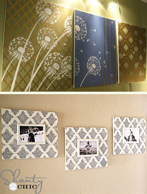 diy paintings for home decor 10 stunning diy home decor stencil projects stencil
