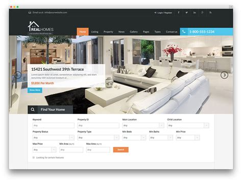 best house search sites 49 best real estate wordpress themes for agencies