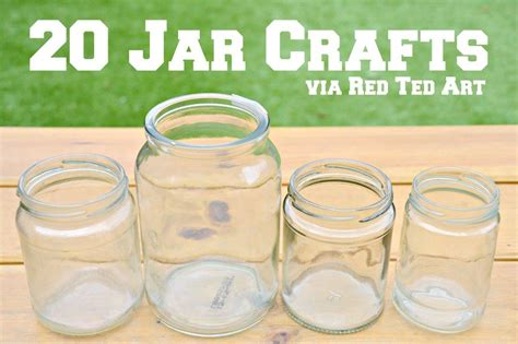 jar craft ideas jar crafts ted s