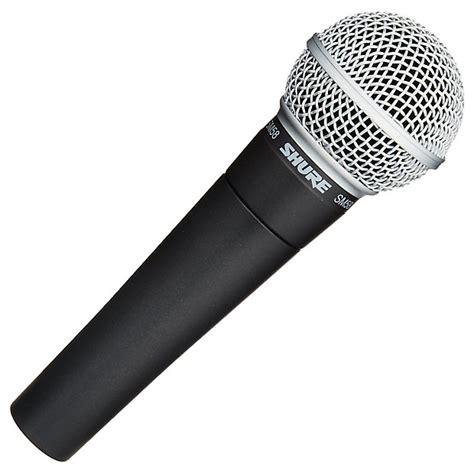 Shure Sm58sm58 Lc Vocal Microphone Original Shure Sm58 Lc Cardioid Dynamic Vocal Microphone Reverb