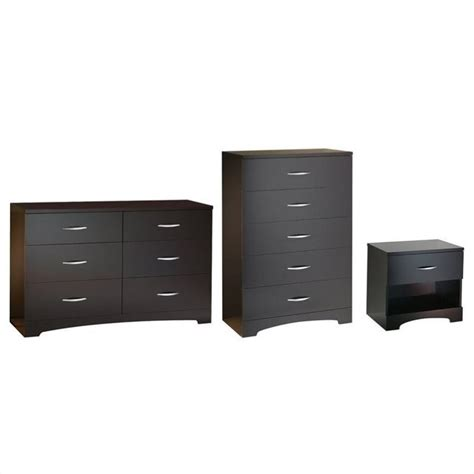 Chest And Dresser Set by South Shore Back Bay Dresser With Chest And Nightstand Set