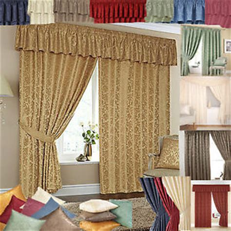 ready made cheap curtains cheap lined ready made curtains matching pelmets tie