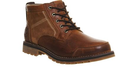 timberland boots chukka timberland larchmont chukka boots in brown for lyst