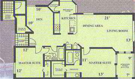 fau floor plan boca raton apartment fau rental br307 2 bedroom floor plans
