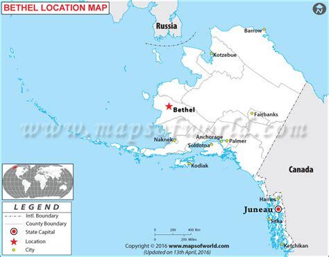 bethel alaska usa map where is bethel alaska