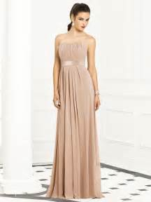 color dresses chagne color bridesmaid dresses strapless chagne