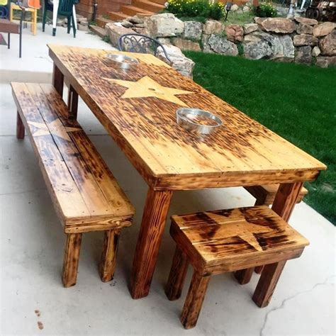 wooden pallet dining table best 25 pallet dining tables ideas on dining