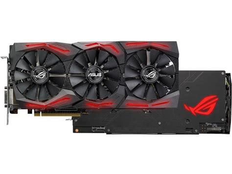 Asus Rog Strix Rx 580 O8g Gaming asus rog strix radeon rx 580 o8g gaming oc edition gddr5 dp hdmi dvi vr ready amd graphics card