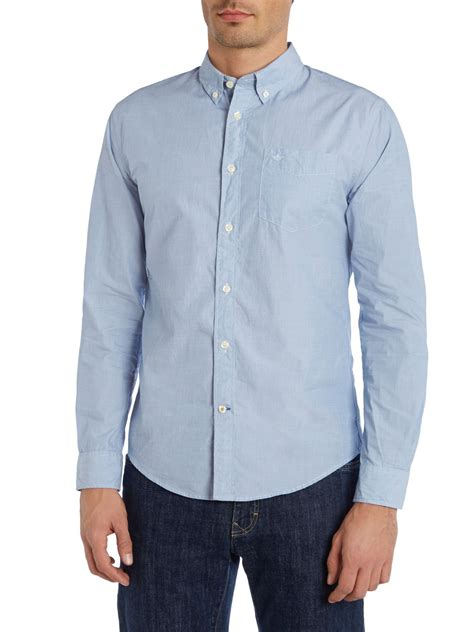 Button Collar Oxford Shirt dockers cotton oxford shirt with button collar in