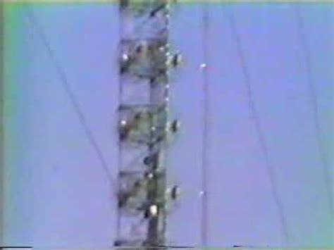 die  tv tower collapse youtube