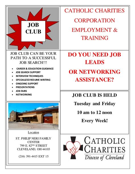 club flyer design jobs job club flyer