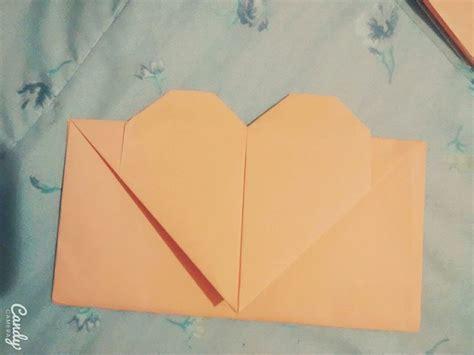 Origami Envelope A4 - tutorial envelope de cora 231 227 o origami dobradura folha a4