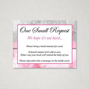 baby shower book instead of card free template baby shower invitation reminder wording oxyline