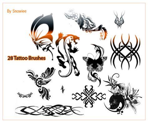 photoshop tattoo brushes 200 dazzling free photoshop tattoo brushes graphicsbeam