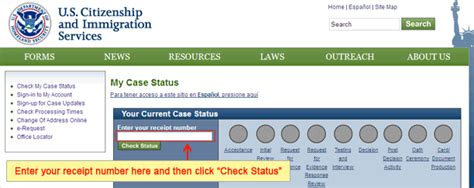 Immigration Status Search U S Immigration
