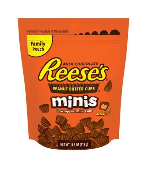 Hershey Resses hershey s reese s peanut butter cup minis 226g american fizz