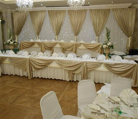 Top Table Decoration Ideas Church Venue Wedding Decorations Northern Ireland Ireland Top Table Decor