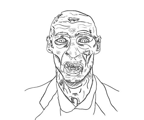 minecraft coloring pages mutant zombie free coloring pages of minecraft zombies