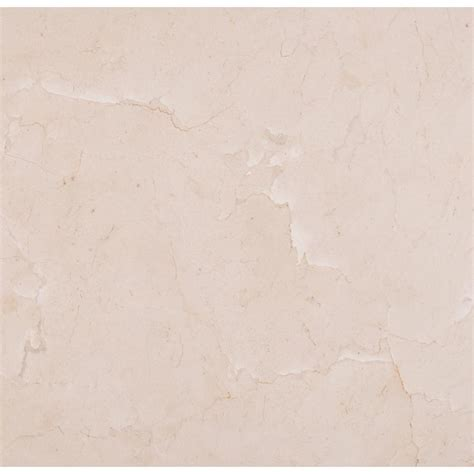 ms international crema marfil 18 in x 18 in polished marble floor and wall tile 9 sq ft