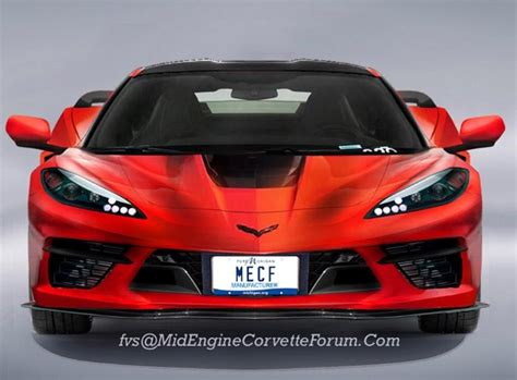 Chevrolet Corvette C8 2020 by 2020 Chevrolet Corvette C8 Rendered By Another Artist
