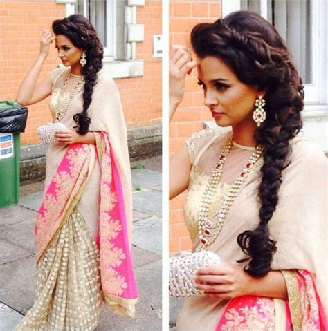 Wedding Hairstyles On Saree by Hairstyles For Saree 20 Hairstyles To Wear With Saree