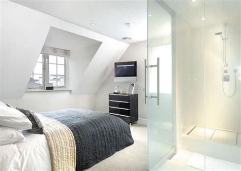 Loft Bedroom With Bathroom Quot Peek A Boo Quot Lc Smartglass For Hotel Bathroom Interiors
