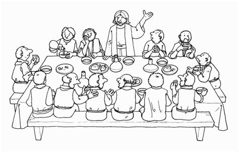 coloring page last supper 17 best images about bible jesus the lord s supper on