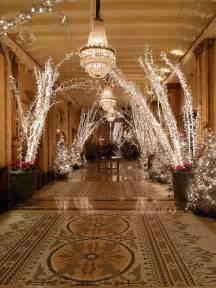 roosevelt hotel christmas decor lobby flickr photo