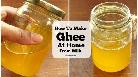 ghee how to make ghee at home from milk