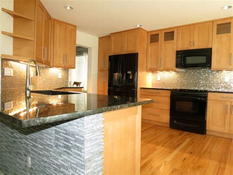 wood cabinets kitchen small kitchen design kitchens light wood cabinets awesome