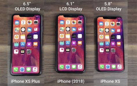 iphone xs 2018 on shows all 3 models slashgear
