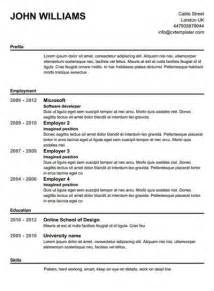 blank resume template printable free printable resume templates learnhowtoloseweight net