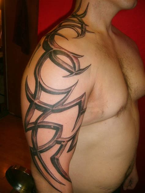 mens love tattoo designs tribal designs for shoulder