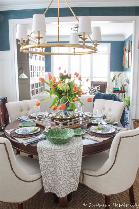 spring decorating ideas  southern hospitality
