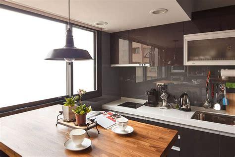 tiny industrial loft style apartment  taipei city