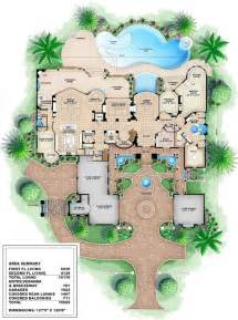 Luxury Mansion Plans by House Plans Luxury House Plans