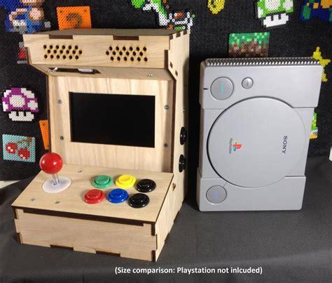 mini arcade cabinet kit diy arcade cabinet kits more porta pi arcade kit