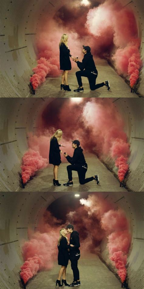 Props to This Guy for The Coolest Proposal Photos Ever