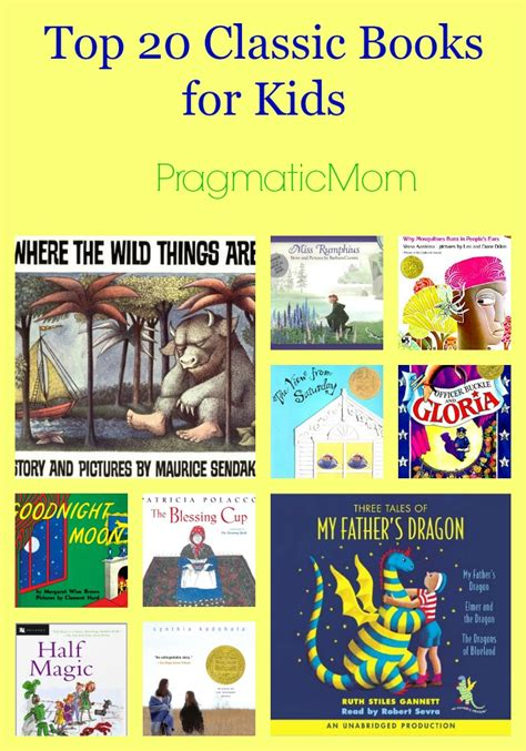 best picture books for children top 20 classic books for pragmaticmom