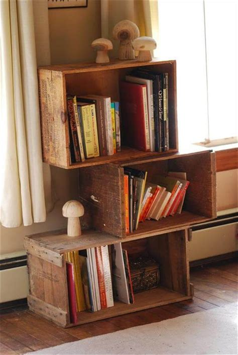 Furniture From Wooden Crates by 14 Diy Wooden Crate Furniture Design Ideas Pallet Furniture Diy