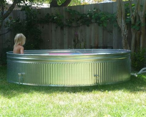 25 best galvanized stock tank ideas on stock