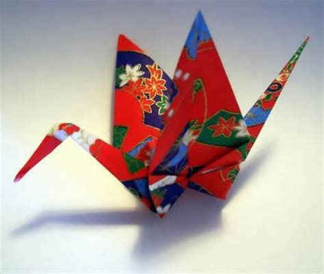Traditional Japanese Origami - still bewildered my as a flying crane