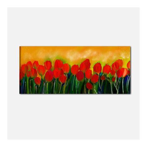 quadri moderni dipinti  mano  fiori  salone