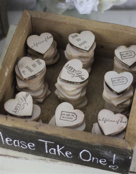 unxia wedding favors wood magnets - Wedding Favors Magnets